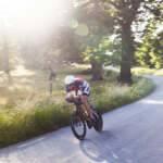 triathlon, cykling