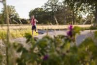 triathlon, löpare, sprintdistans