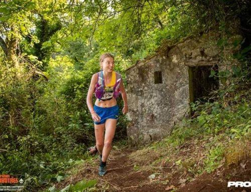 Lisa springer vidare och är sin leendeultratrailVmLisaget! 46a av 159 trailvmkvinnor